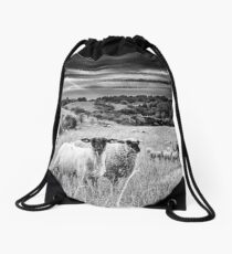 Sheep's Moment Drawstring Bag