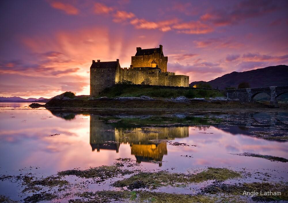 Scotland: Eilean Donan Castle by Angie Latham