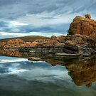 Storm Clouds Over Watson Lake by K D Graves Photography