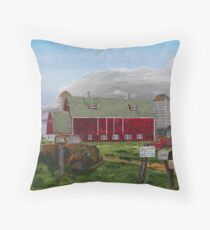 MAYFLOWER ROAD Throw Pillow