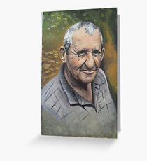 portret Greeting Card