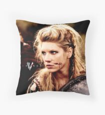 lagertha lothbrok 2 Throw Pillow