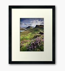 Scotland: My Bonny Heather Framed Print