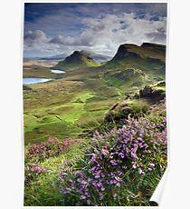 Scotland: My Bonny Heather Poster