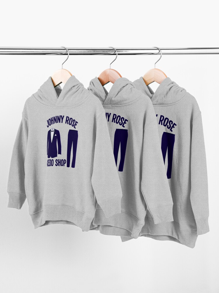 Alternate view of Johnny Rose Tuxedo Shop Schitts Creek Toddler Pullover Hoodie