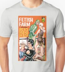 Fetish Farm Vintage Bookcover Unisex T-Shirt