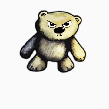 Cute Angry Bear by averybadbear