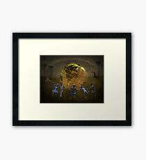 Its A Small World! Framed Print