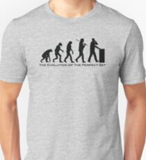 The Evolution of the perfect set dj concept Unisex T-Shirt