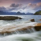 Isle of Skye: A Calmer Panorama by Angie Latham