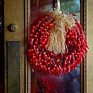 Chili Pepper Wreath by CarolM