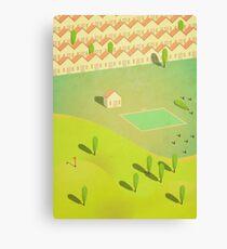 Housing Canvas Print