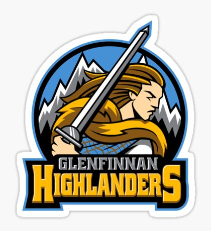 Highlander Sports Logo Sticker