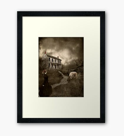 Where The Story Ends... Framed Print