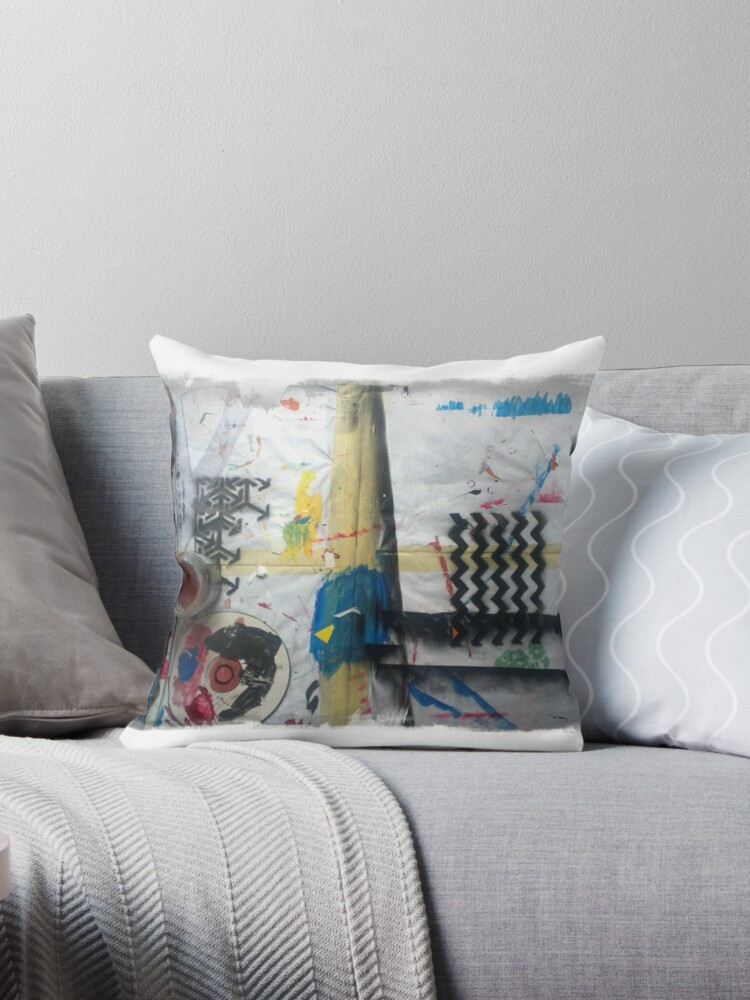 Cool Artsy Throw Pillow By Oysterhead Download Free Architecture Designs Rallybritishbridgeorg