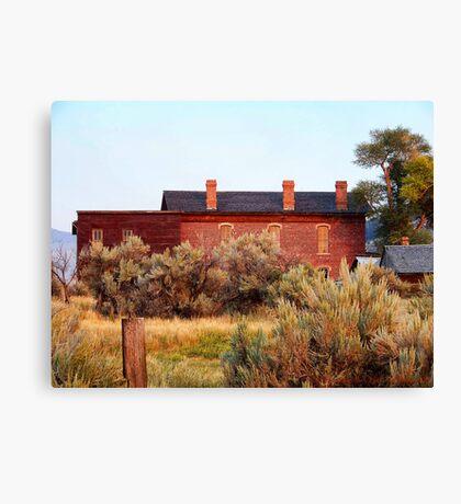 Hotel Meade 1 (Bannack, Montana, USA) Canvas Print