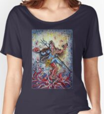 Shiv Shakti Women's Relaxed Fit T-Shirt