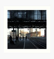 Stranger than fiction - Amsterdam CS Art Print