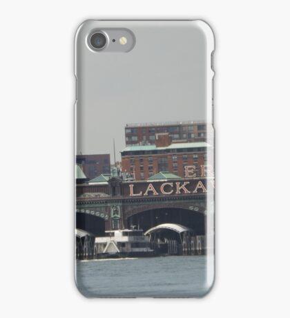 Classic Erie Lackawanna Ferry and Train Terminal, Hoboken, Jersey City  iPhone Case/Skin