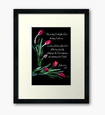 Psalm 27:4 Framed Print