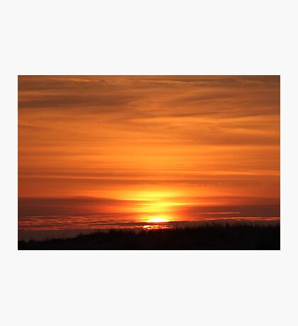 Sunset Over The Dune Photographic Print