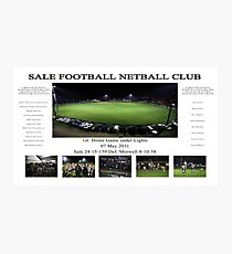 Sale Football Netball Club Photographic Print