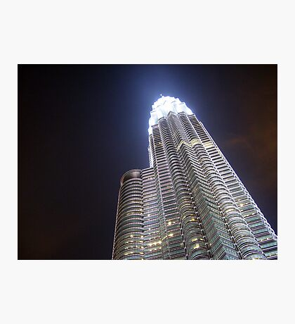 Glowing Petronas Tower Photographic Print