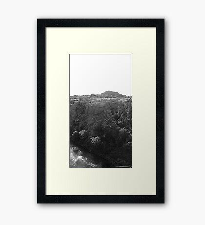 Wichita Mountains Framed Print