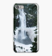 Winter Salt Creek Falls # 1 iPhone Case/Skin