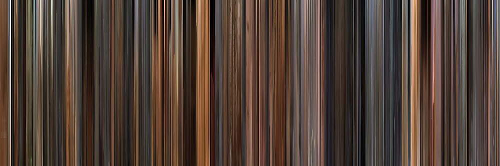 Moviebarcode: The English Patient (1996) by moviebarcode