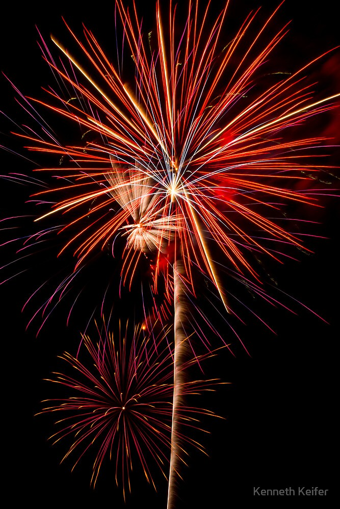 Awesome Fireworks Show! by Kenneth Keifer