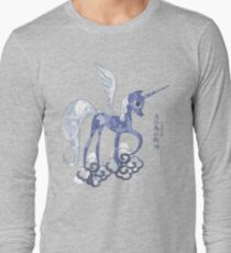 Luna: The Tale of the Moon Horse Long Sleeve T-Shirt