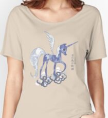 Luna: The Tale of the Moon Horse Women's Relaxed Fit T-Shirt