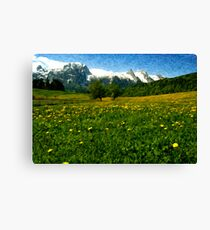 May in Austria Canvas Print
