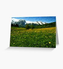May in Austria Greeting Card