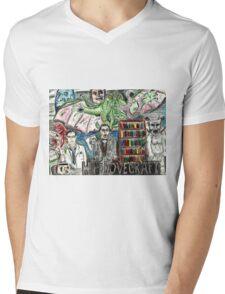 HP LoveCraft Mens V-Neck T-Shirt