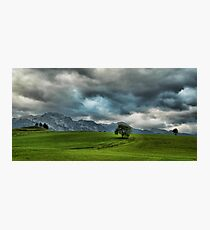 Summer Thunderstorm, Austria Photographic Print
