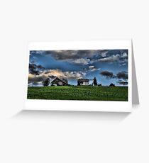 Farm Austria Greeting Card