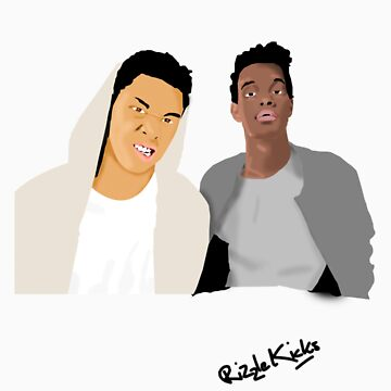 Rizzle Kicks Vector by Bluvy