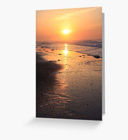 Seascape at Sunrise Greeting Card