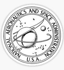 1950's NASA Logo Sticker