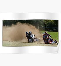 Grass track racing Poster