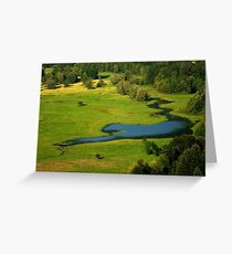Bird's Eye View ~ Part Three Greeting Card