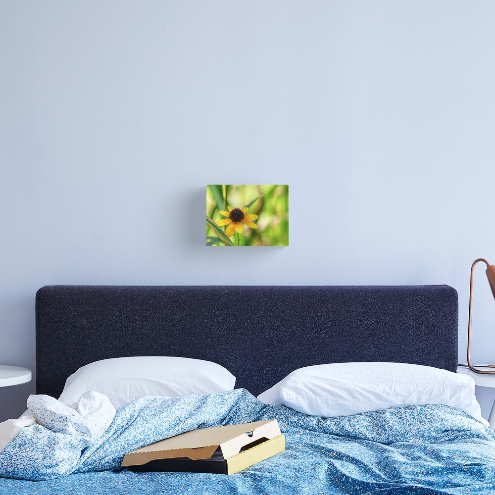 And A Tiny Spider On Top Canvas Print
