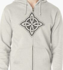 Celtic Luck Knot Zipped Hoodie