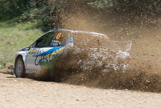 I'm Outta Here! WRC Rally Australia, 2011 by Adrian Paul
