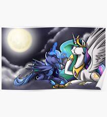 Happy Moon Festival Poster