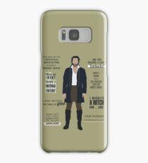 ICHABOD CRANE QUOTES Samsung Galaxy Case/Skin