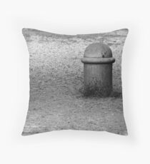"""""""Bloming in solitude"""" Throw Pillow"""