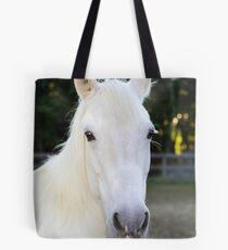 Rianna our rescue horse Tote Bag